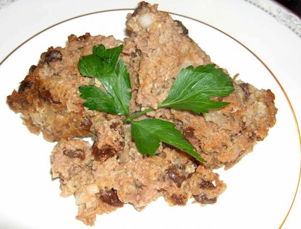 Meatloaf With Raisins