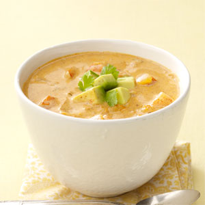 Mexican Shrimp Bisque