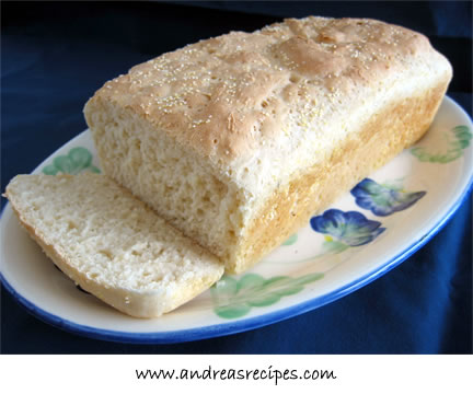 Microwave English Muffin Bread