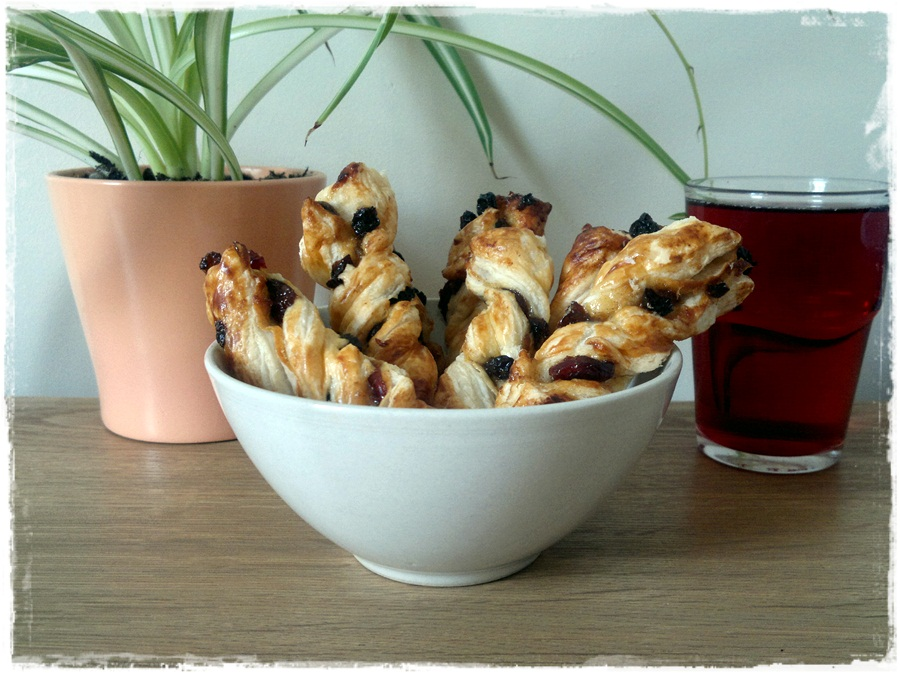 Mince Pastry Twists
