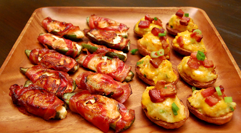 Mini Gourmet Potato Skins