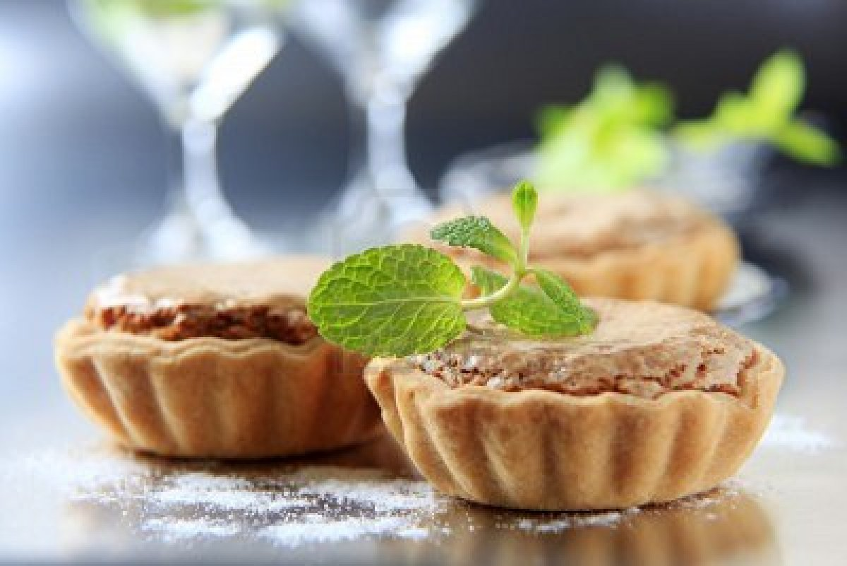 Mini Shortbread Tart Shells