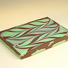 Mint Swirl Fudge