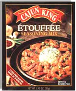 Mixed Cajun Etouffee