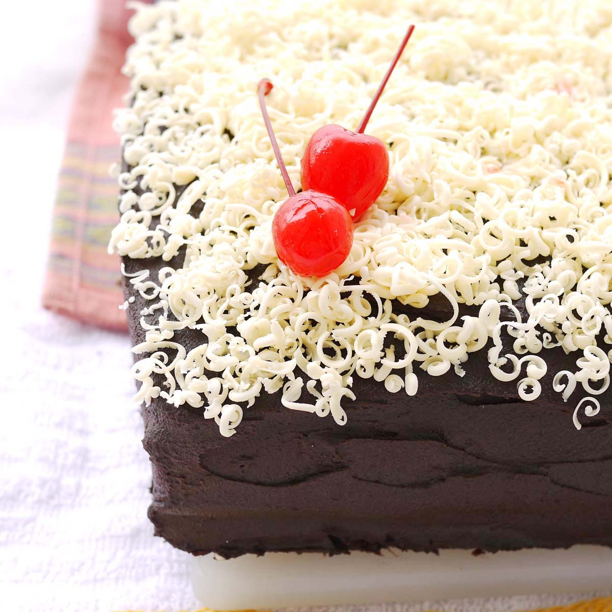 Mom's Sour Cream Chocolate (Sheet) Cake
