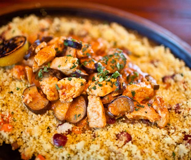 Moroccan Chicken With Couscous - Recipegreat.com