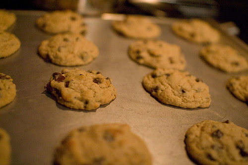 Mrs. Fields Chocolate Chip Cookies.