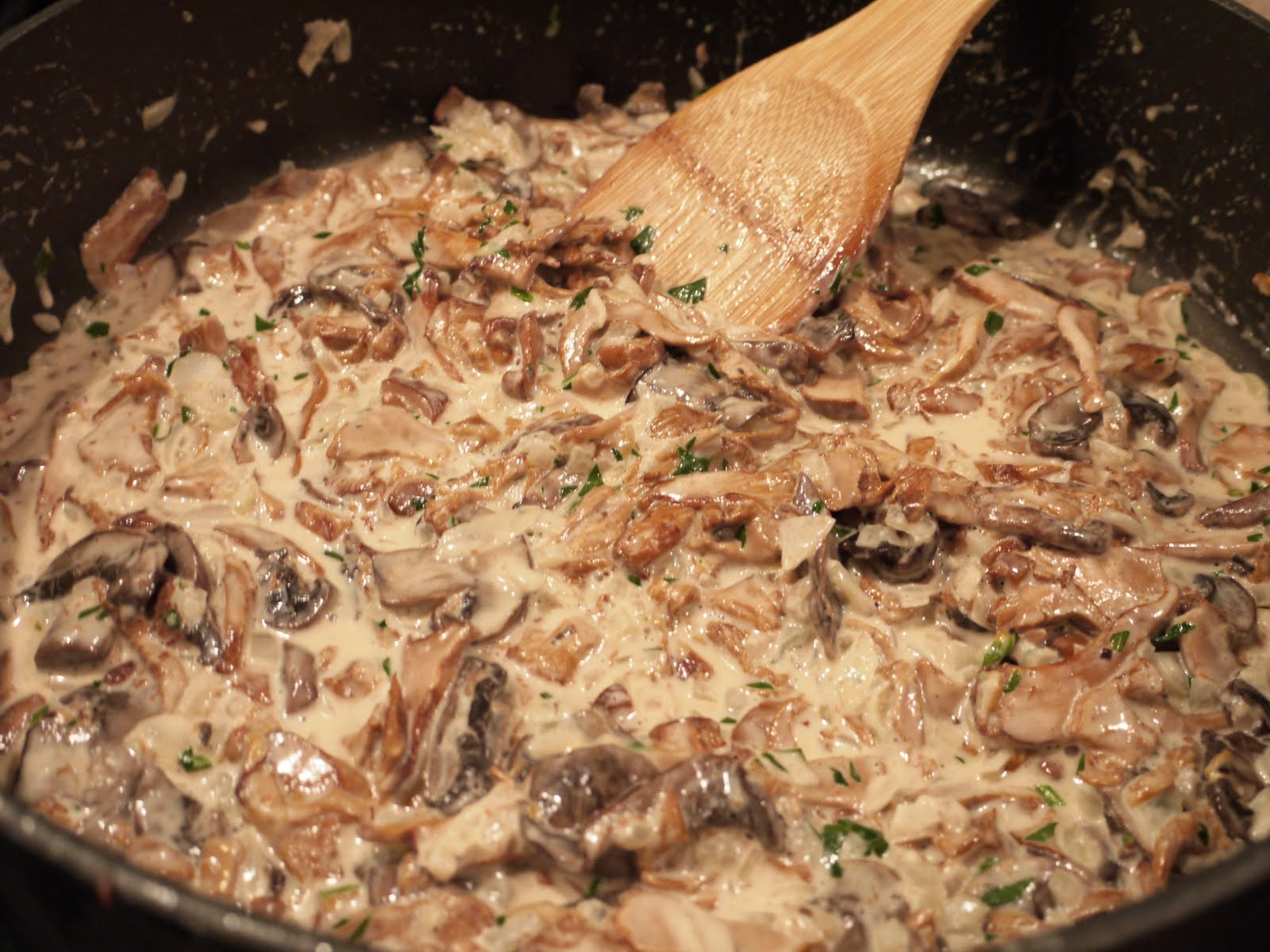 Mushrooms Ala Creme