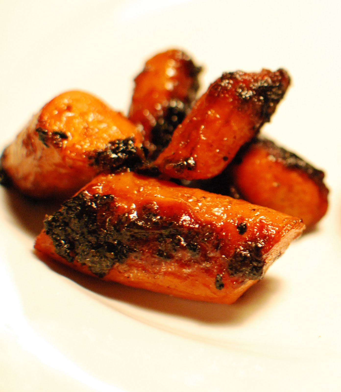 Mustard Glazed Carrots