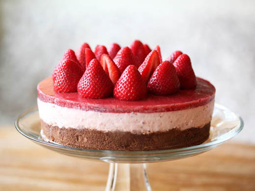 My Original Strawberry Cheesecake Recipe