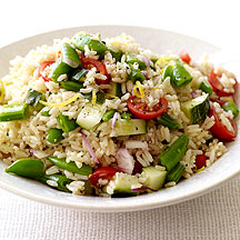 New Zealand Brown Rice Salad