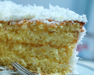 No Bake Coconut Cake