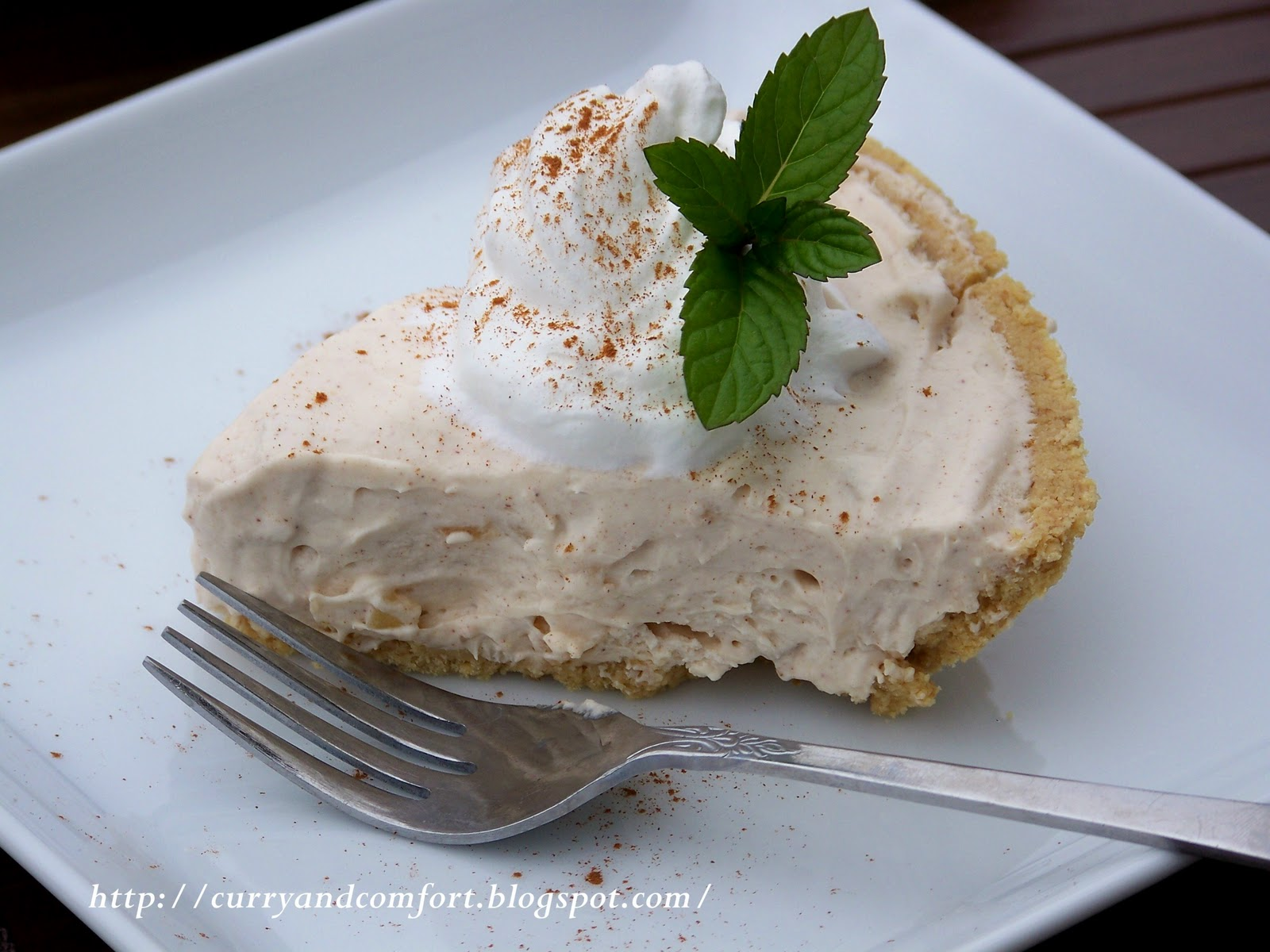 No-Fuss Cinnamon Cheesecake