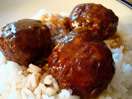 Not Too Sweet & Sour Meatballs (Crock Pot)