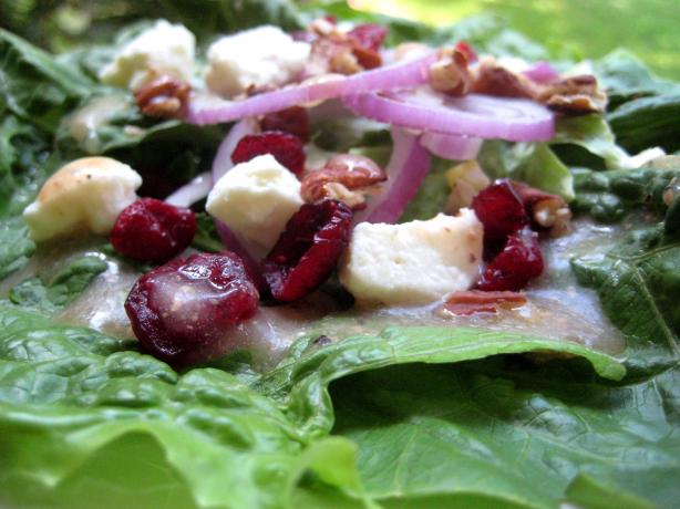 Nutty Cran-Feta Salad