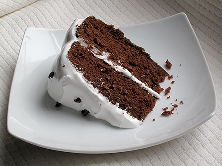 Old Fashioned Red Devil's Food Cake