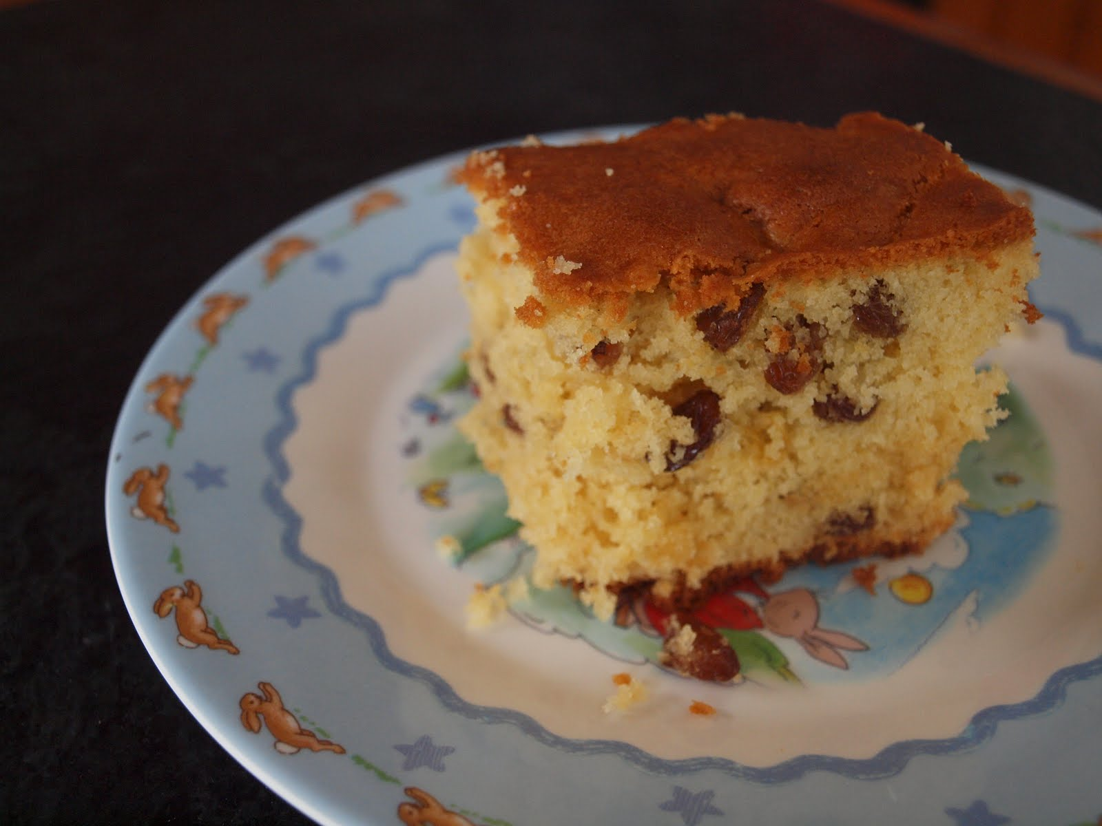 Old-Fashioned Sultana Cake