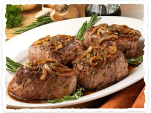 Olive Garden Beef Filets in Balsamic Sauce