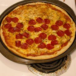 Olympic Rings Pizza