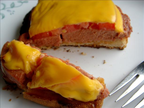 Open Faced Braunschweiger Melts