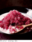 Oprah's Grape Ice With Almond Puree