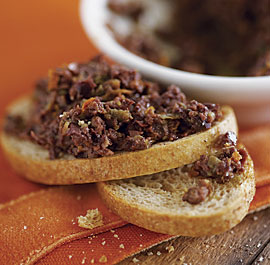 Orange & Fennel Seed Tapenade