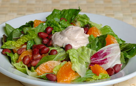 Orange and Peanut Salad