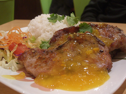 Orange Baked Pork Chops