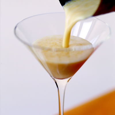 Orange Jewel Martini