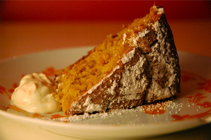 Orange Walnut Cake