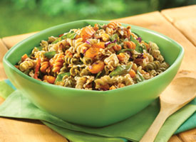 Oriental Vegetable and Pasta Salad