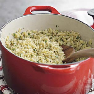 Orzo With Parsley and Lemon