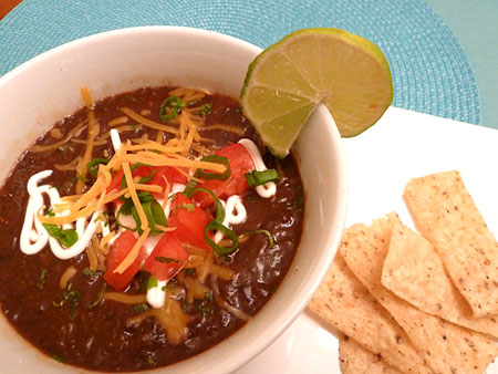 Our Favorite Black Bean Soup