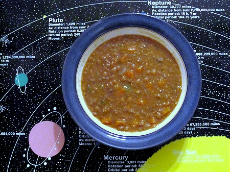 Outta This World Lentil Soup