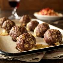 Oven Baked Porcupine Meatballs