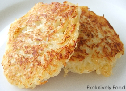 Oven-Crisped Potato Cakes