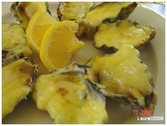 Oysters Mornay