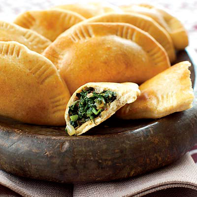 Palestinian Spinach Pies