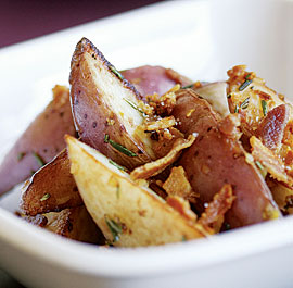 Pan-Fried Red Potatoes with Pancetta & Rosemary