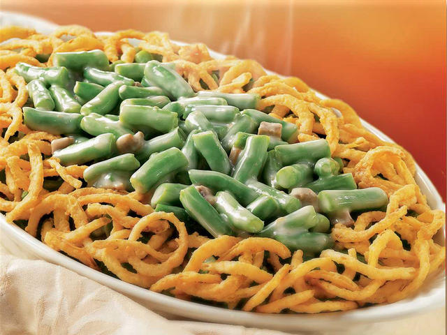 Pareve Green Bean Casserole