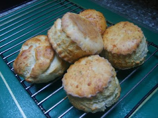 Parmesan and Basil Scones