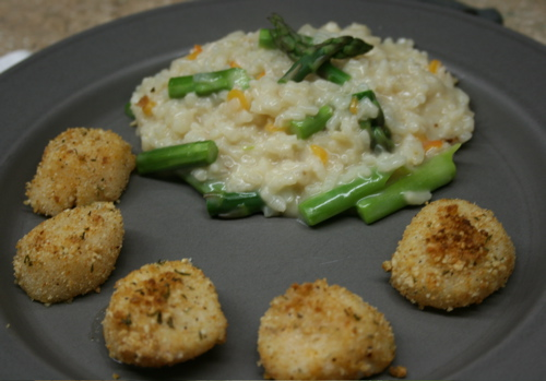 Parmesan Crusted Broiled Scallops