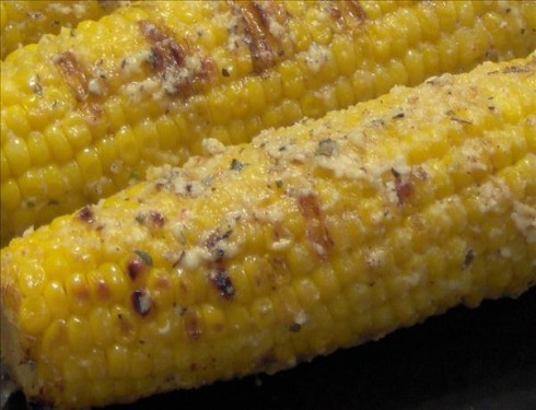 Parmesan Roasted Corn on the Cob