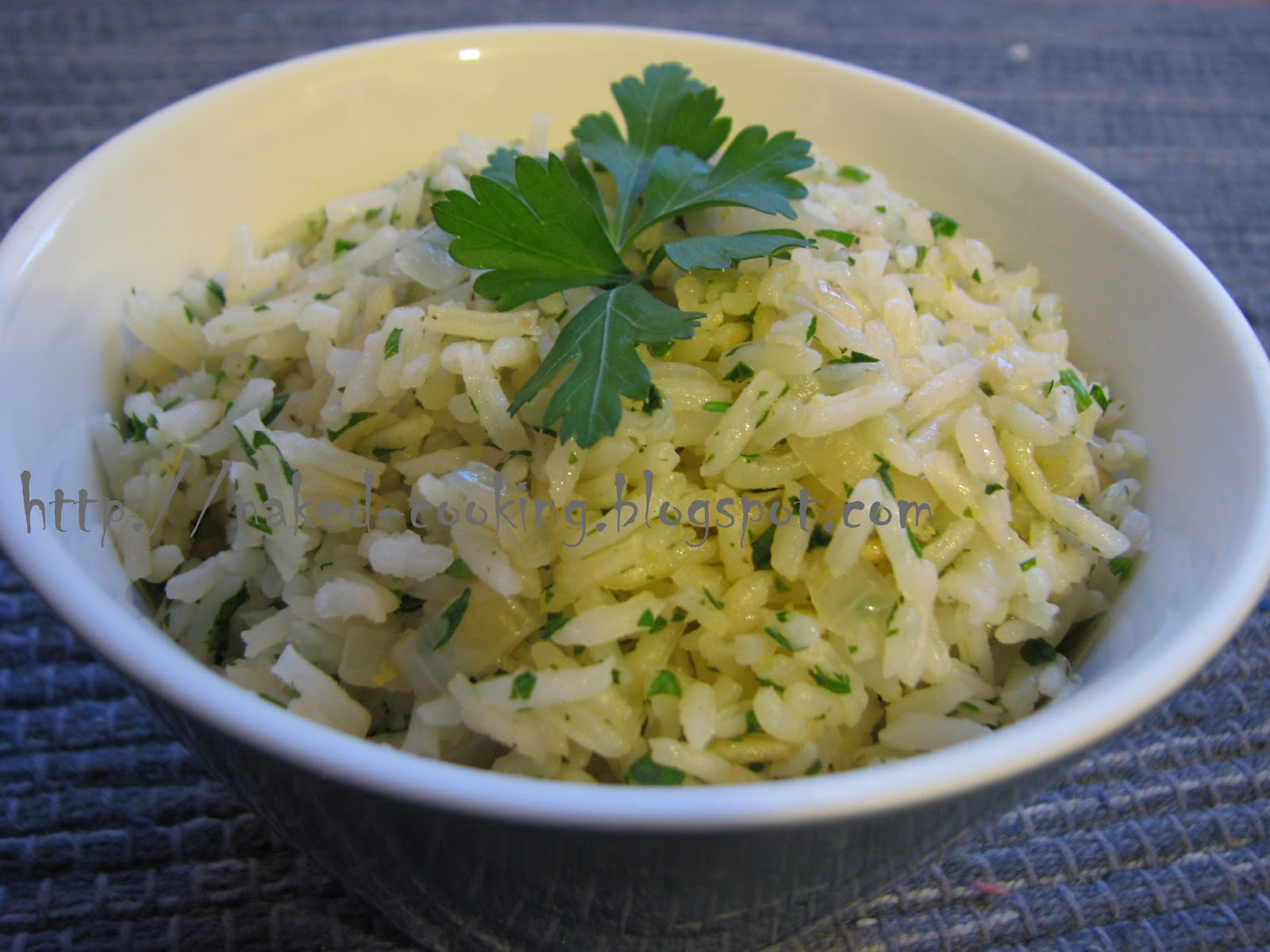 Parsleyed Rice Pilaf