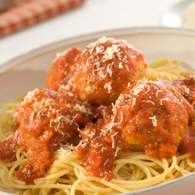Pasta and Meatballs for Kids