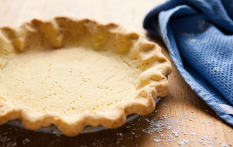 Pastry Recipe for Pie Crust - Gluten Free