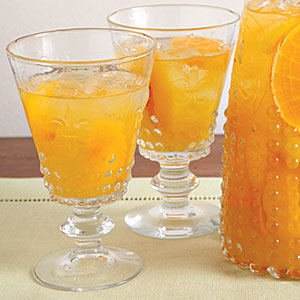 Peach and Orange Sangria