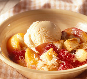 Peach-Berry Betty