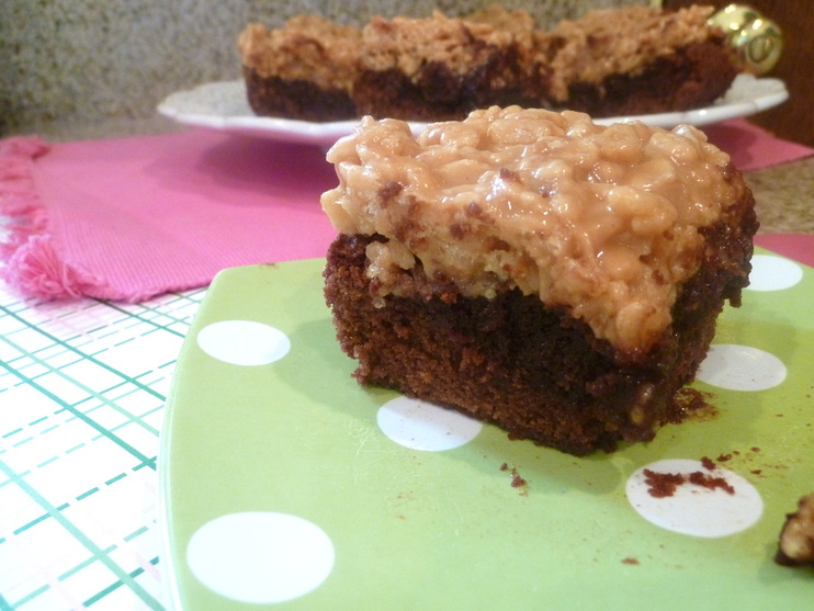 Peanut Buttery Chewy Gooey Brownies