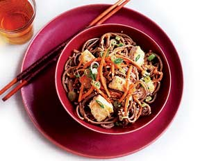 Peanut Noodles With Tofu(Flat Belly Diet Recipe)